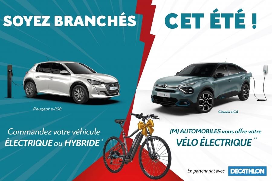 Soyez branchés cet été avec Citroën et Peugeot !